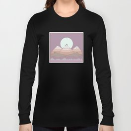 Moon over the Mountians Long Sleeve T-shirt