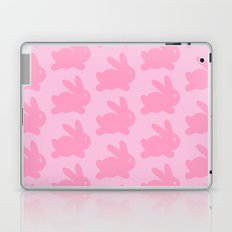 Pink Bunnies Pattern 2 Laptop & iPad Skin