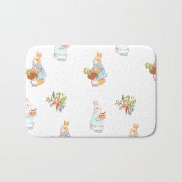 Spring Bunnies Bath Mat
