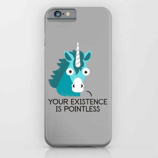 Neigh Sayer iPhone & iPod Case