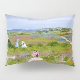 William Merritt Chase - Landscape, Shinnecock, Long Island - Digital Remastered Edition Pillow Sham