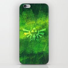 Legend Of Zelda Triforce iPhone & iPod Skin