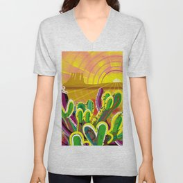 Monument Valley Unisex V-Neck