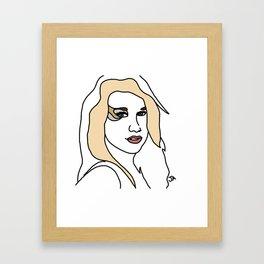 Ke$ha Kesha Framed Art Print