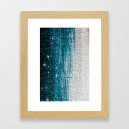Distressed Wood Framed Art Print