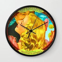 FOR SALE: THE ENCHANTER Wall Clock