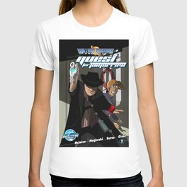 William Shatner Presents Quest for Tomorrow cover 2 T-shirt