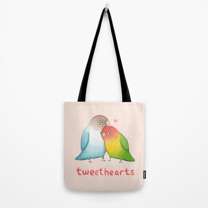 Tweethearts Tote Bag