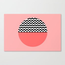 Moiety Pink Canvas Print