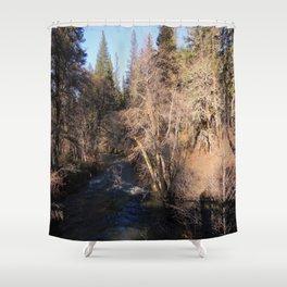 Salt Creek in Hayfork, California Shower Curtain