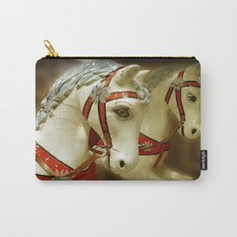 and the painted ponies go up and down Carry-All Pouch