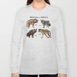 Hyenas of Africa Long Sleeve T-shirt