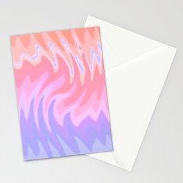 ZigZag Sunset Stationery Cards