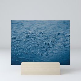 Let It Rain Nature Photograph Mini Art Print