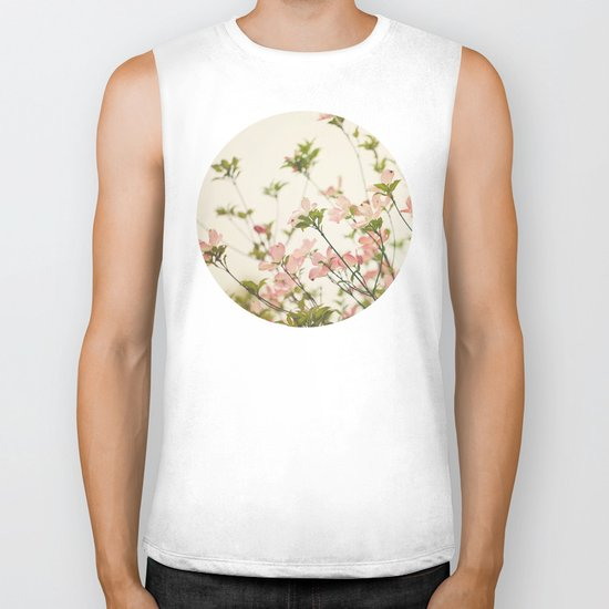 Under the Dogwood Tree  Biker Tank