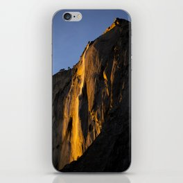 Yosemite Firefall 2016 Portrait  iPhone Skin