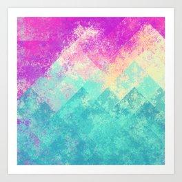 Simply Abstract 4 Art Print
