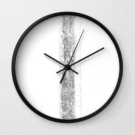 The tower of Falsity Wall Clock