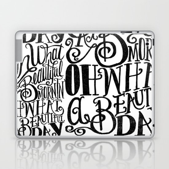 ....Oh what a beautiful day Laptop & iPad Skin