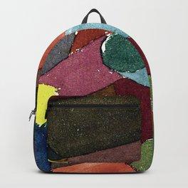 """Paul Klee """"Garten Dämmerung (Garden twilight)"""" Backpack"""