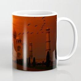 Taj Mahal Sunset Coffee Mug