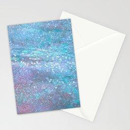 Iridescent Glitter Stationery Cards