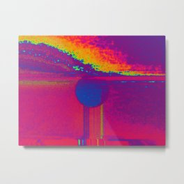 Cleansing the earth Metal Print