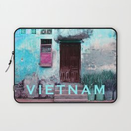 ANTIQUE CHINESE WALL of HOI AN in VIETNAM Laptop Sleeve