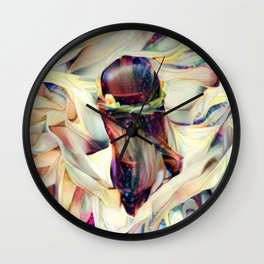 In the Arms of an Angel Wall Clock