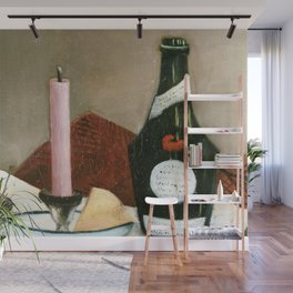 Henri Rousseau - The Pink Candle Wall Mural