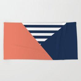 Three colors Beach Towel