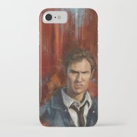 true detective iPhone & iPod Cases featuring True Detective by LucioL