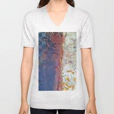 entropic floral dreams Unisex V-Neck