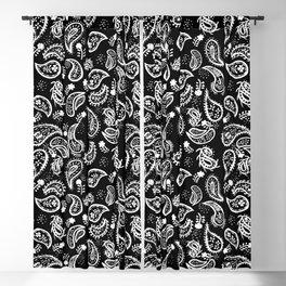 playful paisley Blackout Curtain