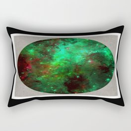 Captured Space - Abstract, geometric, outer space themed art Rectangular Pillow