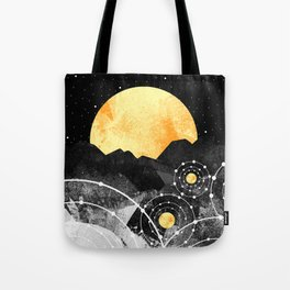 Stars of the galaxy Tote Bag