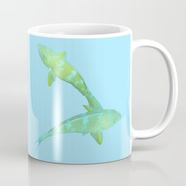 Lime Parrotfish Coffee Mug