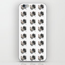Fire Rooster 2 iPhone Skin