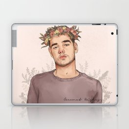 Flower crown Liam Laptop & iPad Skin