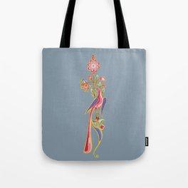 Bird Illumination Tote Bag