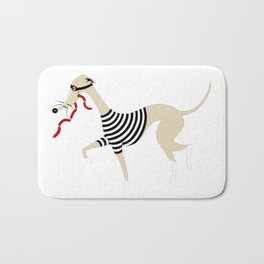 Whippet Thief Bath Mat