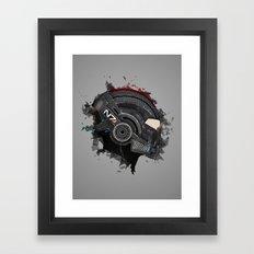 Beloved Helmet Framed Art Print