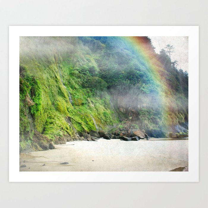 Luck of the Oregonians Art Print