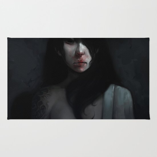 Portrait of Ikuko's Ghost Rug