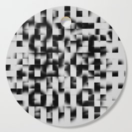 Black pixel pattern  Cutting Board