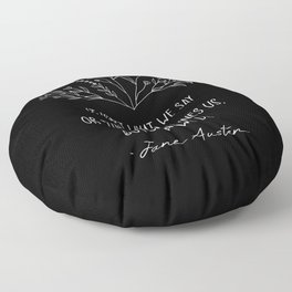 What Defines Us - Inverted Floor Pillow