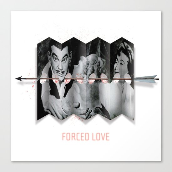 Forced Love Canvas Print