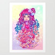 Cute Penanggalan Art Print