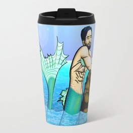 Melancholy Merman Travel Mug