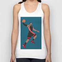 lebron Tank Tops featuring Lebron by rusto